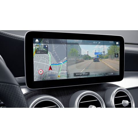 10.25 inch media touchscreen